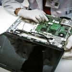 riparazione hard disk, laboratorio, scheda video